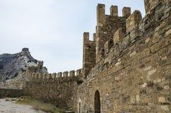 руины замока старые Стоковые Фотографии RF