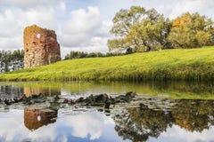 руины замока Стоковая Фотография RF