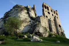 руины замока Стоковые Фотографии RF