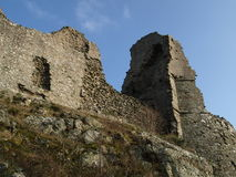 руины замока Стоковые Изображения RF