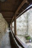 руины замока Стоковое Фото