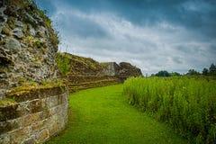 руины замока Стоковые Фото
