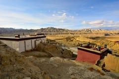 Руины династии guge Тибета Стоковые Изображения