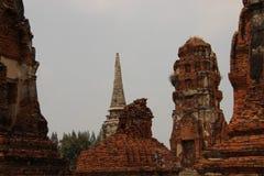 руины Исторический парк со старым Pogodas стоковые фото