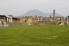 руины Италии pompei Стоковое Фото