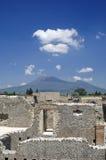 руины Италии pompeii Стоковая Фотография RF