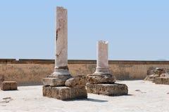 руины Картагоа Стоковое Изображение RF