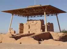 руины Кас большие Стоковые Изображения