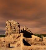 руины Кас большие Стоковые Фото