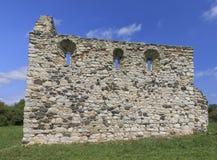 Руины католической церкви Стоковое фото RF