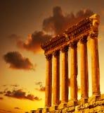 Руины колонки Стоковые Фото