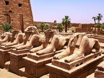 Руины комплекса виска Karnak Стоковое Изображение