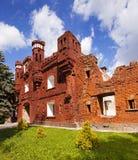 Руины крепости Стоковые Фото