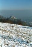руины крепости deva Стоковые Фото