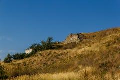 Руины крепости Yeñi Qale стоковое фото rf
