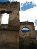 Руины Мексики стоковая фотография