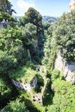 Руины мельниц Vallum в Сорренто, Италии стоковые изображения rf