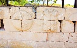 Руины места Dion археологического в Греции Стоковое фото RF