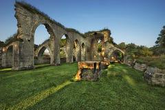 Руины монастыря Стоковая Фотография RF