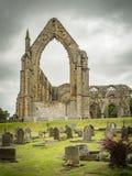 Руины монастыря Bolton, аббатство Bolton, Йоркшир Стоковое фото RF