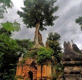 руины Мьянма стоковые фотографии rf