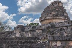 Руины на Chichen Itza Стоковое Изображение RF