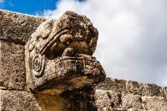 Руины на Chichen Itza Стоковая Фотография