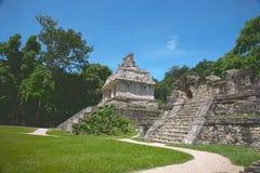 Руины на Polenque Стоковое фото RF