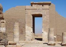 Руины на Qasr Dusch Стоковые Фото
