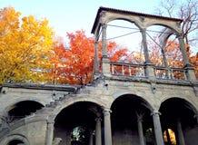 Руины нового Lusthaus стоковое фото rf