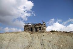 Руины дома в горах в Турции Стоковая Фотография RF