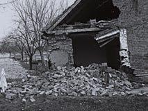 Руины дома Стоковое Изображение RF