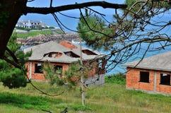 руины дома Стоковая Фотография RF