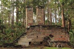 Руины плантации Dummett Стоковые Изображения