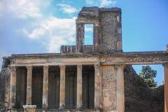 Руины Помпеи стоковые фото