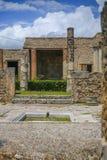 Руины Помпеи стоковое фото