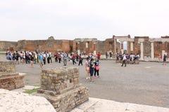 Руины Помпеи Стоковая Фотография
