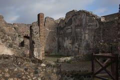 Руины Помпеи Стоковое Изображение RF