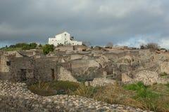 Руины Помпеи стоковая фотография rf