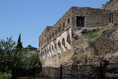 Руины Помпеи Стоковое фото RF