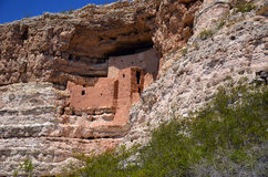 Руины Пуэбло замка Montezuma Стоковое фото RF