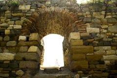 руины древнегреческия стоковые фото