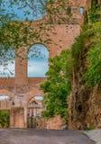 Руины римского форума в Риме Италии Стоковые Фото