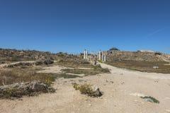 Руины салями города в Fama, Кипре Стоковое фото RF