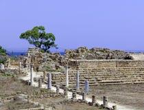 Руины салями приближают к Famagusta Стоковые Изображения