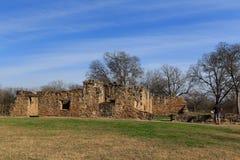 Руины Сан-Хуана полета в Сан Антонио стоковое фото rf