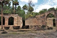 Руины сахарного завода Стоковые Изображения
