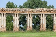 Руины сводов Стоковое Фото