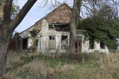 Руины сельского дома Стоковые Изображения RF