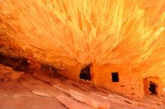 руины скалы Стоковые Фотографии RF